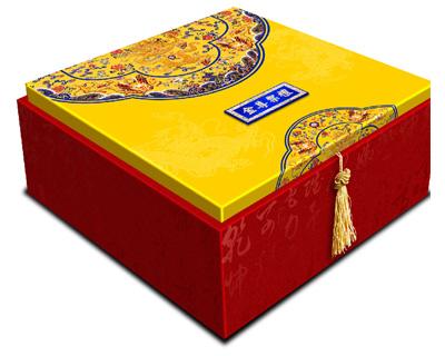 金尊乐礼地包天天地盖月饼包装盒