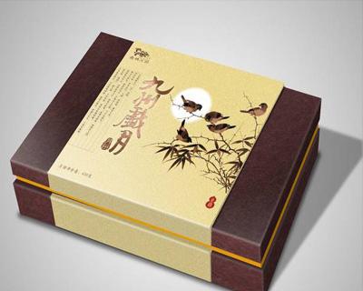 九州岁月天地盖露腰保健品包装盒