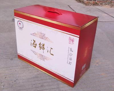 海鲜汇彩印纸箱