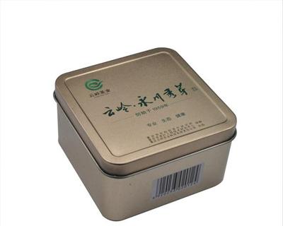 茶叶铁盒包装