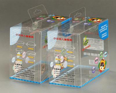 儿童餐具PVC包装盒