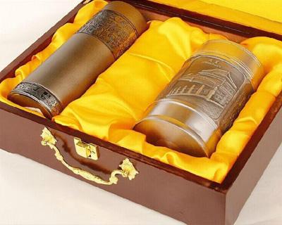 茶杯烤漆木盒包装