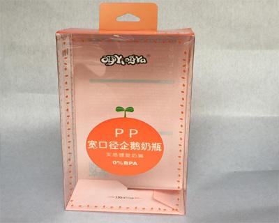 奶瓶PVC包装盒