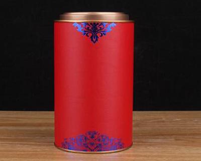 大红袍纸罐包装