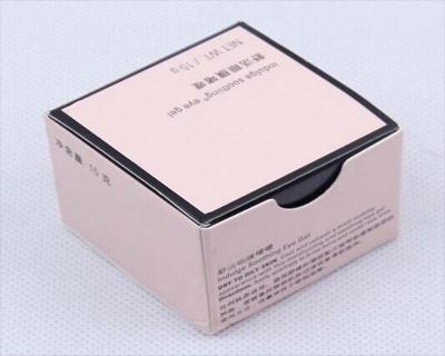 啫喱折纸包装盒