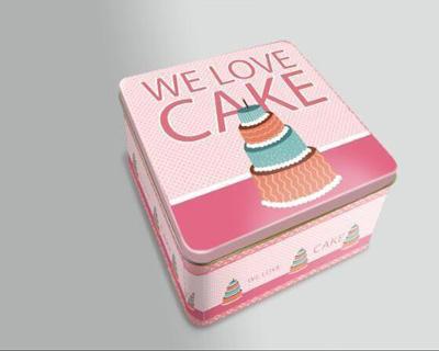 蛋糕铁盒包装