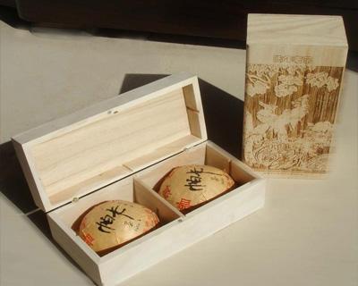 普洱茶原木盒包装