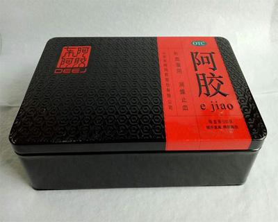 阿胶铁盒包装