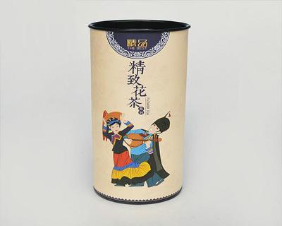 花茶纸罐包装