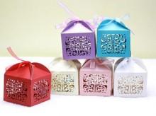 卡纸镂空糖果包装盒