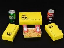 炸鸡薯条外卖包装盒