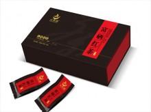 富硒红茶四片书型茶叶包装盒