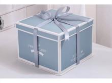 方形丝带蛋糕包装盒