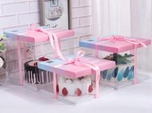 方形透明蛋糕包装盒